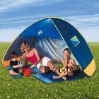 Napvédő pop up sátor családi UV védelem 50 +