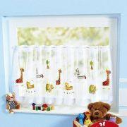 Állatos függöny gyerekszobába