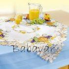 Őszi dekoráció- tökös asztalközép