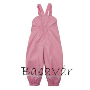 Bornino Rózsaszín kantáros esőnadrág