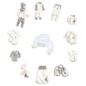 Bornino elefántos/ nyuszis pamut rugizsák
