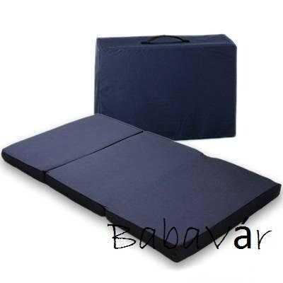 Összecsukható hordozható matrac utazóágyba 60×120
