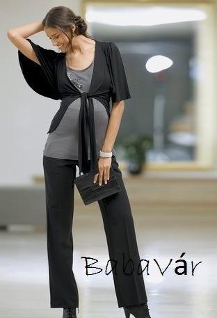 f21879934b Mama Licious fekete elegáns kismamanadrág | BabaMamaOutlet.hu