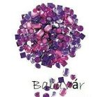 ragasztható dekor strasszok :Rózsaszín/ lila