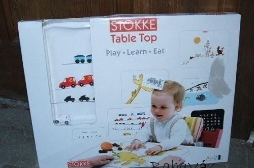 stokke table top asztallap 3 lapos zsir fos v zilovas j rm ves babav r baba mama outlet web ruh z. Black Bedroom Furniture Sets. Home Design Ideas