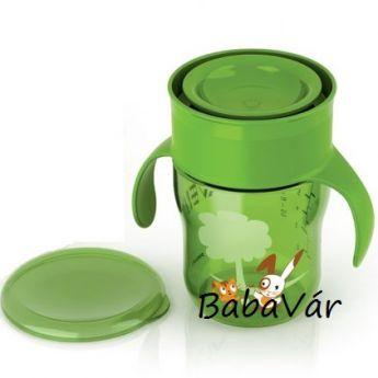 Avent tanuló pohár kicsiknek zöld