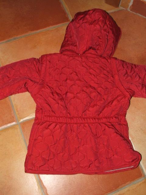 Chicco piros steppelt mellénnyé alakítható kabát  4342a266f5