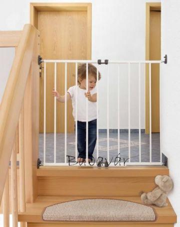 Reer fehér fém biztonsági ajtó S Gate  73-110 cm
