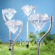 Kerti Dekor: Solár leszúrós gyémánt