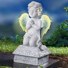 Műkő Solár angyalka