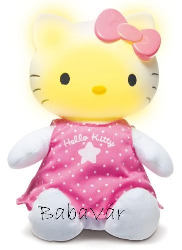 Hello Kitty zenélős éjjeli fény  BabaVár Baba KisMama outlet webáruház