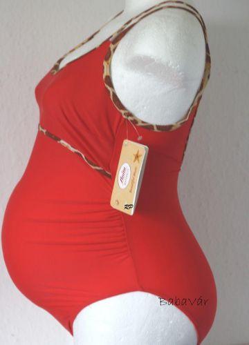 Anita Fürdőruha 9519 Kuta piros