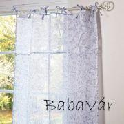 Mirabeau függöny: Kék mintás