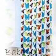 Pillangós zuhanyfüggöny