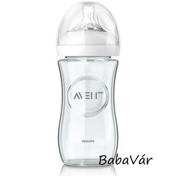 Avent natural üveg cumisüveg 240ml