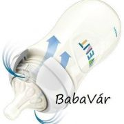 Avent natural műanyag cumisüveg 260ml