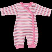 Fixoni koraszülött rózsaszín csíkos lábfej nélküli rugi