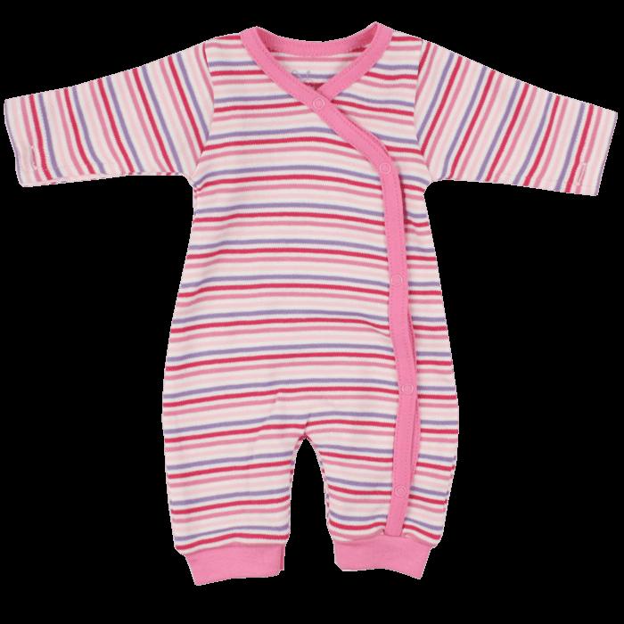 Fixoni koraszülött rózsaszín csíkos lábfej nélküli rugi ... da959a5fd3