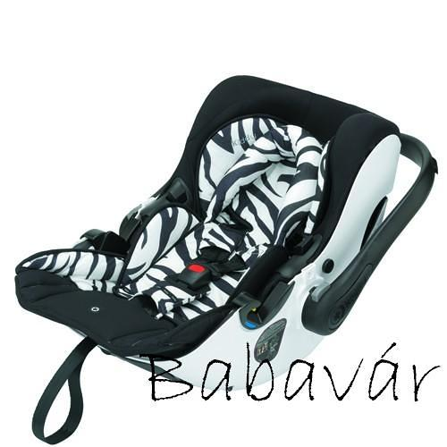 Kiddy Evolution pro autós hordozó Zebra