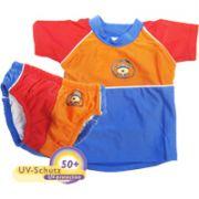 Tabeo macis úszópóló kék/narancs/piros