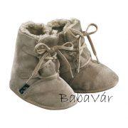 Jacobs szőrmés bélelt baba bőr cipő