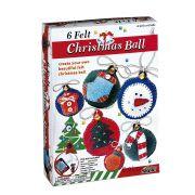 Karácsonyfadísz készítő kreatív szett