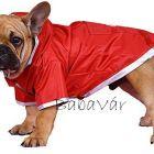 Doggydolly piros Kutya Esőkabát