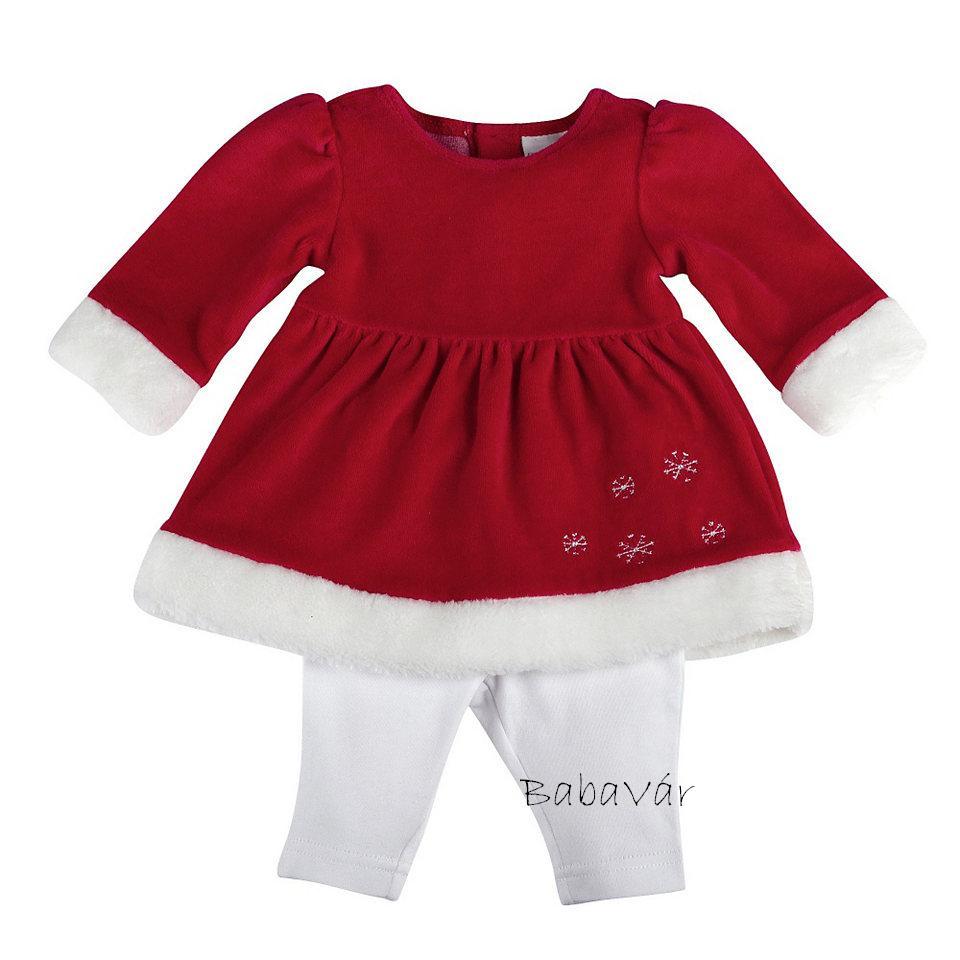 Bornino Karácsonyi ünneplős tunika legging szett