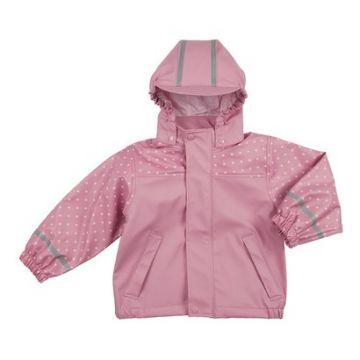 Bornino rózsaszín pöttyös esőkabát