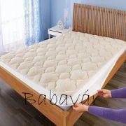 Meleg szőrmés matracvédő 90x200