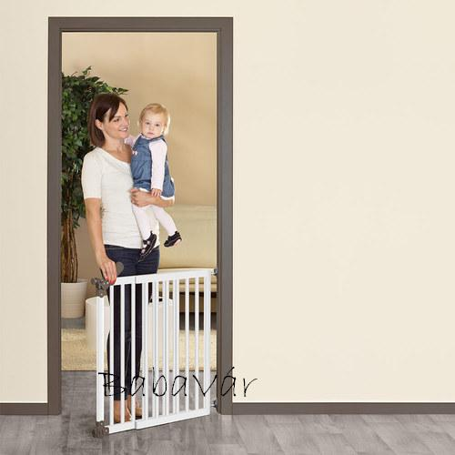 Reer fehér fém biztonsági ajtó T Gate  77-104 cm
