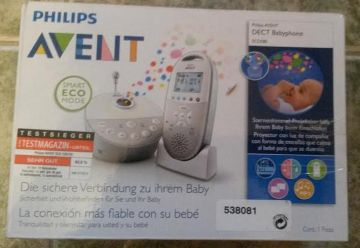 Philips Avent dect SCD580/00 bébi monitor