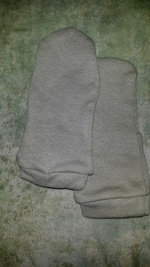 Bornino drapp pamut babakesztyű