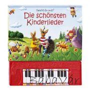Német nyelvű éneklős könyv pianinoval