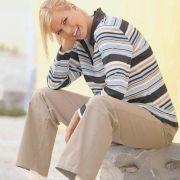 Natur barna oldalt állítható pamut kismama nadrág