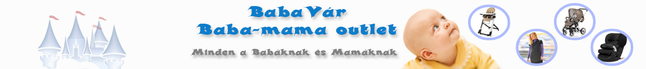 BabaVár Baba-mama outlet webáruház