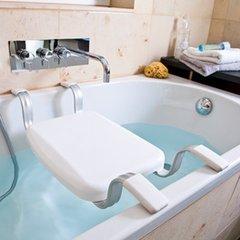 Aluminium vázú kádra tehető ülőke / fürdőszék