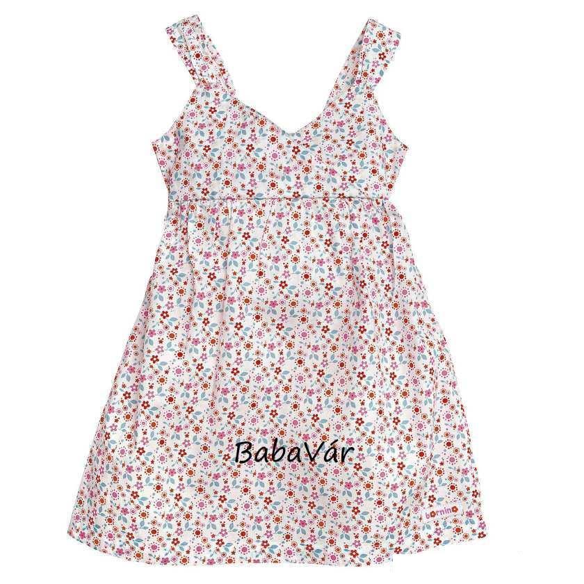 902aff54e1 Bornino virgmintás vékony vászon kislány ruha | BabaMamaOutlet.hu