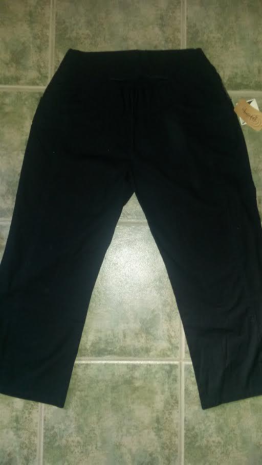 Christoff sötétkék zsebes felhajtható szárú kismama bermuda