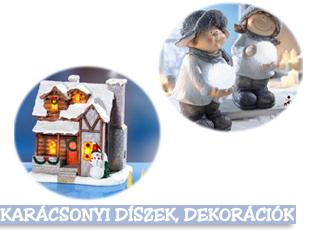 Karácsony díszek, dekorációk, kiegészítők