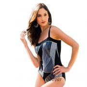 Fashy Brigitte variálható vállpántos szivacs mellbetétes női alakformáló  fürdőruha