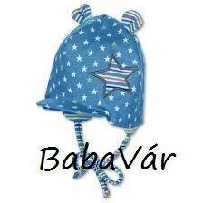 Sterntaler kék csillagos uv szűrős babasapi