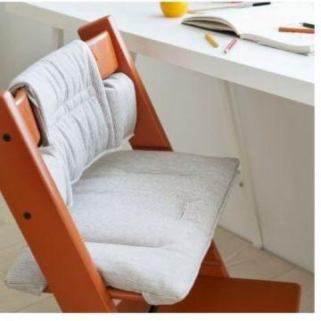 Stokke Etetőszékbe ülőkebetét Tripp Trapp Cushion Grey loom