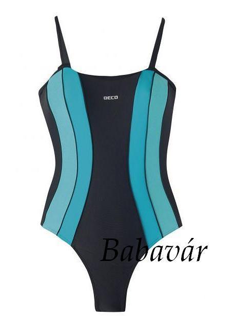 5f200f23ac Beco Fekete/kék Női egyrészes Fürdőruha | BabaMamaOutlet.hu
