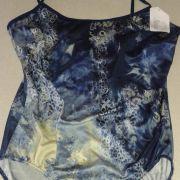 Linique Collection kék mintás kismama fürdőruha