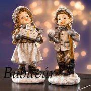 Karácsonyi figurák: Lukas és Lena