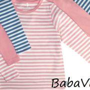 Name It rózsaszín csíkos pamut baba felső 9ff2f92cd8