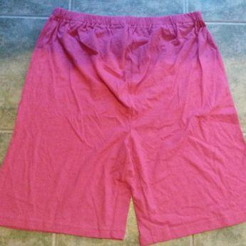 Rózsaszín kismama sort/pizsama rövidnadrág