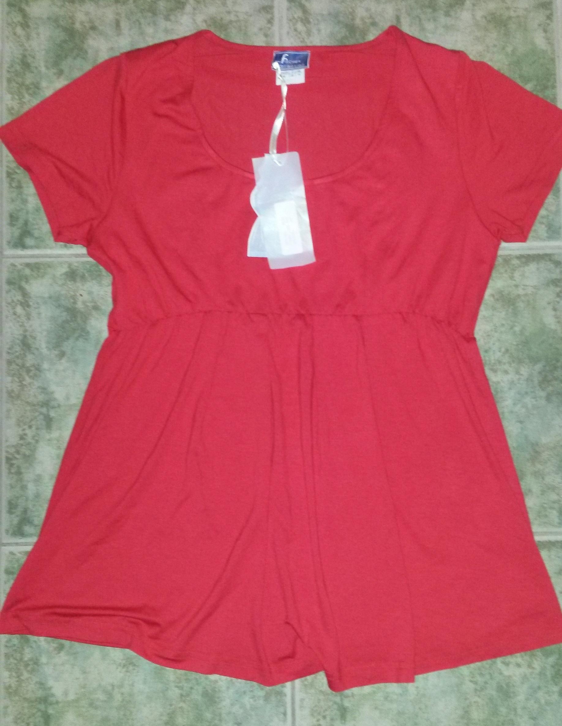 5222621c4 Fischer Collection piros kismama tunika
