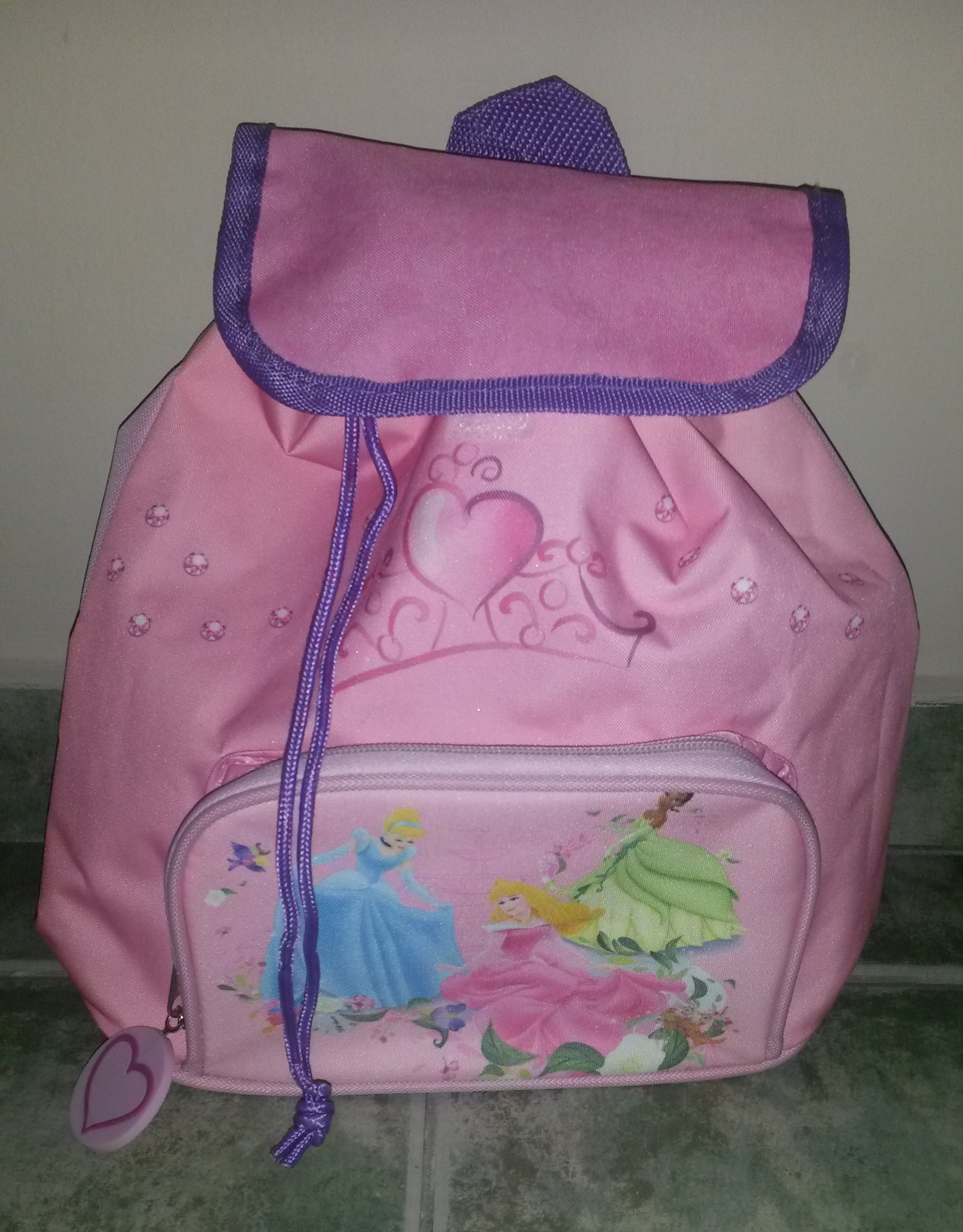 Disney Princess rózsaszín ovis hátizsák  27527b4f14